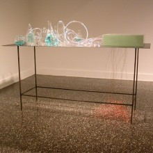Systems for Producing Growth, 2004 Mixed media 60 x 25 x 40