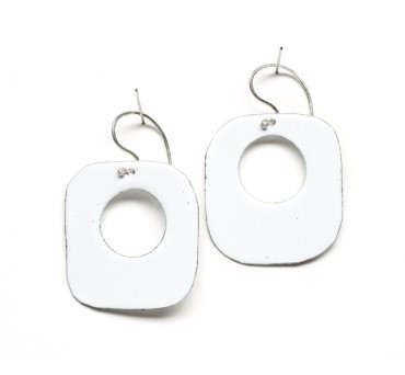 Enamel Hoops – Square