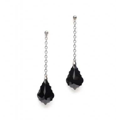Black Crystal Drops