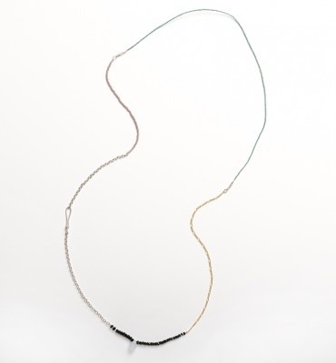 Segments Necklace/Bracelet-Green